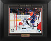 Connor McDavid Autographed and Framed 16 by 20 First (2015/16 Goal of the Year)