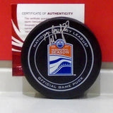 Milan Lucic Autographed Official Game Puck