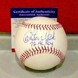 "Carlton Fisk Autographed Baseball Inscribed ""72 AL ROY"" (PSA/DNA)"