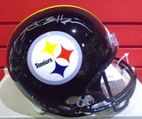 Antonio Brown Autographed Steelers Full Size Helmet (Beckett BAS)
