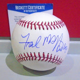 Fred McGriff Autographed Baseball (BAS)   #2