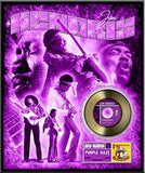 Jimi Hendrix (Purple Haze) Gold Record