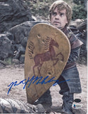 Peter Dinklage (as Tyrion Lannister) Autographed 8 by 10 Photo (Beckett #2)