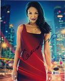 Candice Patton (as Iris West) Autographed 'The Flash' Photo (Beckett)