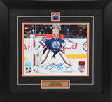 Cam Talbot Autographed and Framed 8 by 10