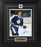 Darryl Sittler Autographed and Framed 8 by 10