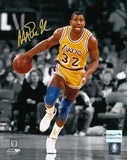 Magic Johnson Autographed 8 by 10 Photo