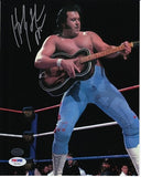 Honky Tonk Man Autographed 8 by 10 (PSA)