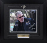 "Ron Perlman (as Clarence ""Clay"" Morrow) Framed & Autographed #3"
