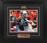 Kurt Warner Autographed and Framed 8 by 10 (Arizona)
