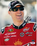 Kevin Harvick Autographed 8 by 10 (PSA)