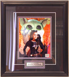 Julie Newmar (as Catwoman) Framed & Autographed