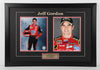 Jeff Gordon Autographed and framed 8 by 10 Photo