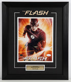 Grant Gustin (as The Flash) Framed and Autographed 8 by 10 Photo (Jsa)