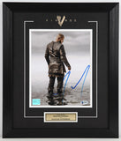 Travis Fimmel (as Ragnar Lothbrok) Framed & Autographed 8 by 10