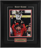 Kasey Kahne Framed and Autographed 8 by 10 (PSA)