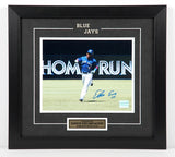 Edwin Encarnacion Autographed and Framed 8 by 10 Photo