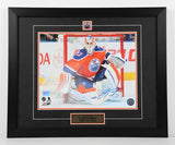 Cam Talbot Autographed and Framed 11 by 14 (Horizontal)