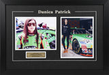 Danica Patrick Framed and Autographed #1