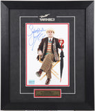 "Sylvester McCoy (as ""The Doctor"") Framed & Autographed (8 by 10)"