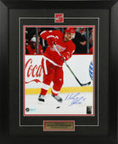 Nicklas Lidstrom Autographed and Framed 11 by 14 Photo