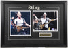 Sting Framed and Autographed (The Police) PSA/DNA