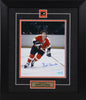 Bobby Clarke Autographed and Framed 8 by 10 (skating)