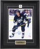 Mario Lemieux Autographed and Framed 11 by 14 (Skating)