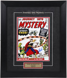 Stan Lee Framed & Autographed (8 by 10 Cover Photo - Journey into Mystery #83)