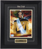 Michael Dorn (Worf) Autographed and Framed #2