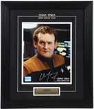 Colm Meaney (Miles O'Brien) Autographed and Framed