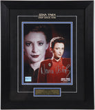 Nana Visitor (as Kira Nerys) Autographed and Framed # 1
