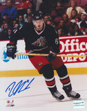 Unframed Rick Nash #1 Autographed 8 by 10 (Blue Jackets)