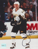 Unframed Joe Nieuwendyk #1 Autographed 8 by 10