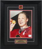 Bobby Hull Autographed and Framed 8 by 10 Photo (51 Goals)