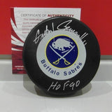 Gilbert Perreault Autographed Sabres Puck