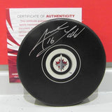 Andrew Ladd Autographed Winnipeg Jets Puck