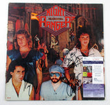 Night Ranger (Jack Blades & 3 Others) Autographed Album Midnight Madness (JSA)