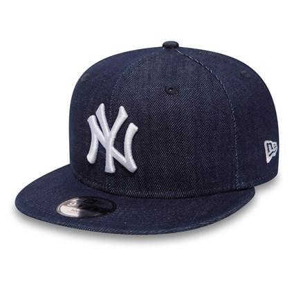 K DENIM BASIC 9FIFTY NEYYAN NAVY/WHITE Y 11066059