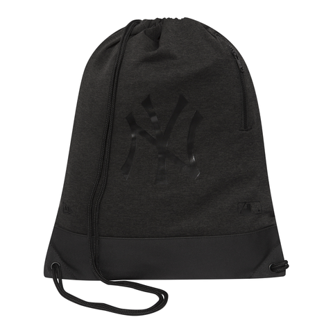 MLB PREM HEATHER GYM SACK NEYYAN GRHBLK 11587654