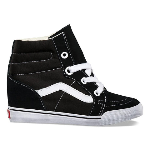 U SK8-HI WEDGE BLACK/TRUE WHIT VN000UDH6BT1