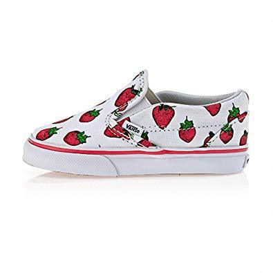 T CLASSIC SLIP-ON (STRAWBERRIES) VN000ZCRIV01