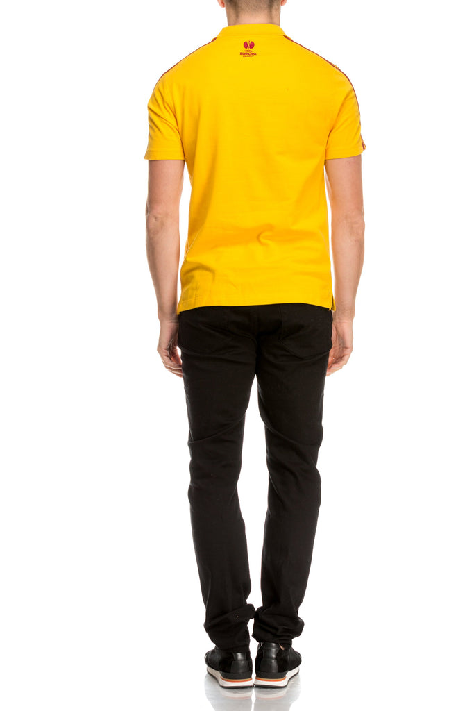 Tricou galben polo Adidas Originals-2