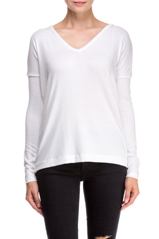THEO L/S TEE W255C946A WHITE