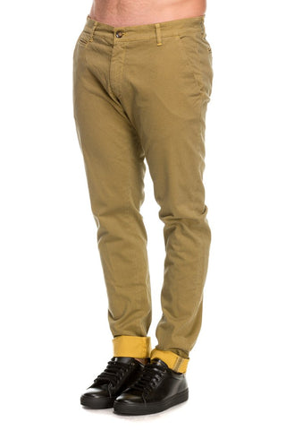 MAN CHINO PANT PRINTED STRETCH KMT011 TW237 02036