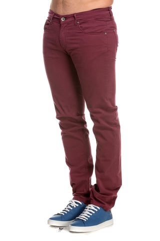 MAN 5 POCKETS PANT STR KMT001 TW213 06046