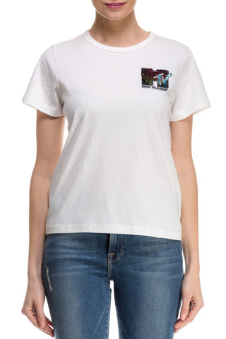 EMBROIDERED CLASSIC TEE M4006226 111
