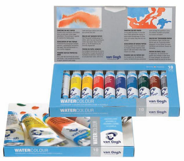 20820110 凡高 水彩 VAN GOGH WATER COLOUR BASIC SET 20C110