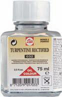 TALENS RECTIFIED TURPENTINE 032 75 ml, 250ml, 1000ml