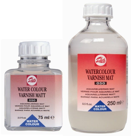 TALENS WATER COLOUR VARNISH MATT 050 75ml, 250ml